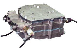 モーターグレイダー用セレクターバルブ