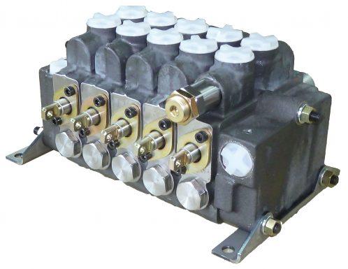 モーターグレイダー用コントロールバルブ